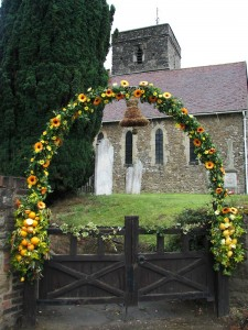 Church gate, St Michael's Offham
