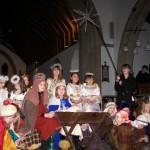 Crib, St Mary's, Christingle 2011