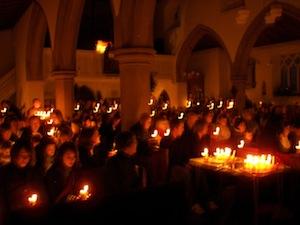 Congregation, St Mary's, Christingle 2011