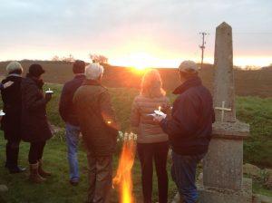 Easter Dawn service, Offham 2015