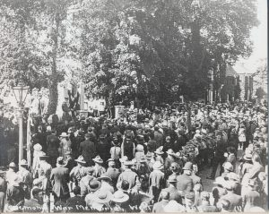 Unveiling of West Malling War Memorial, 1921