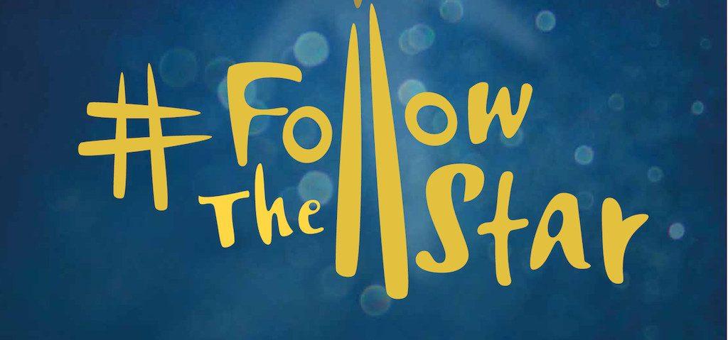 Follow the star logo
